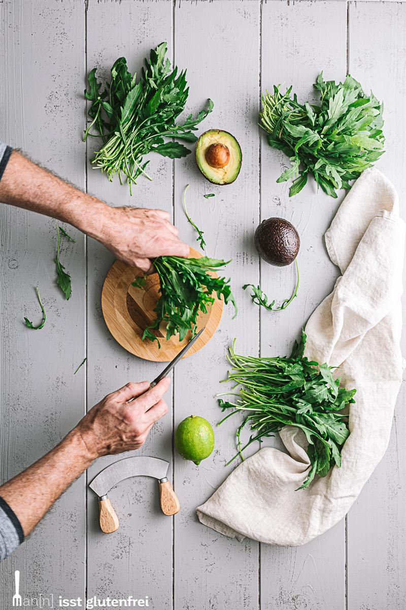 Avocado Rucola Aufstrich